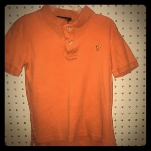 Boys orange Polo